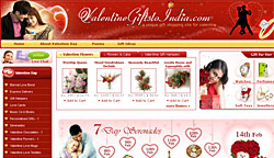 Valentine Gifts to India
